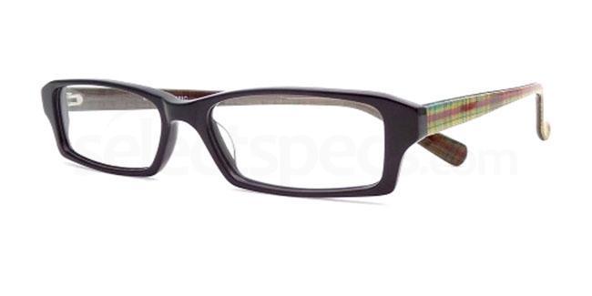 Black Fabric 862 Glasses, Booth & Bruce Design