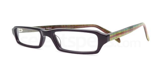 Black Fabric 863 Glasses, Booth & Bruce Design