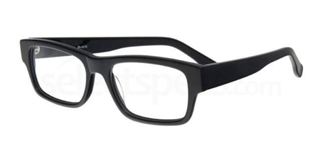 black 885 Glasses, Booth & Bruce Design