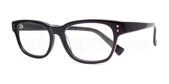 Black 887 Glasses, Booth & Bruce Design