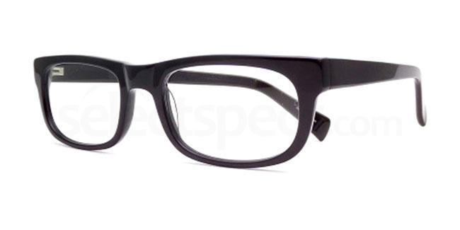 Black 891 Glasses, Booth & Bruce Design