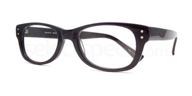 Black Oyster 895 Glasses, Booth & Bruce Design