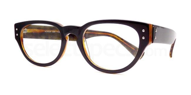 Black on Tortoise 897 Glasses, Booth & Bruce Design