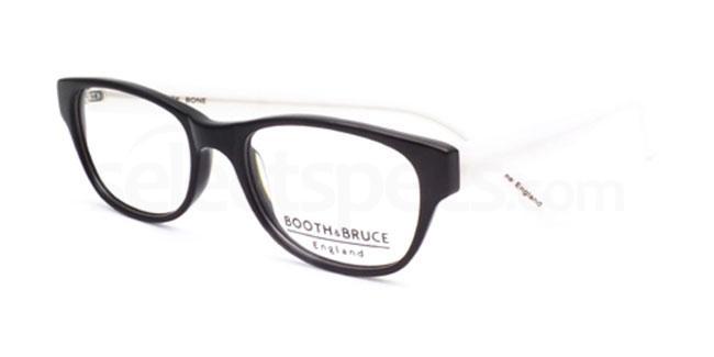Black Bone 909 Glasses, Booth & Bruce Design