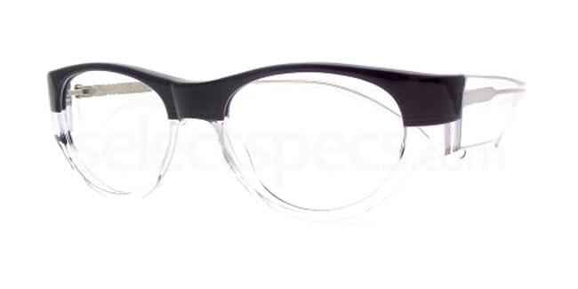 Black and Crystal Po16 Glasses, Booth & Bruce Design