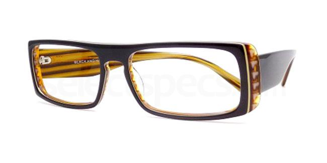 Black and Havana Po17 Glasses, Booth & Bruce Design