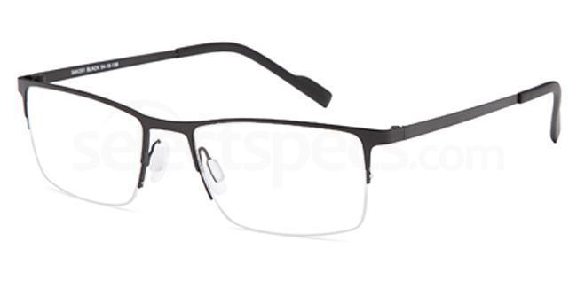 Black SAK 351 Glasses, Sakuru