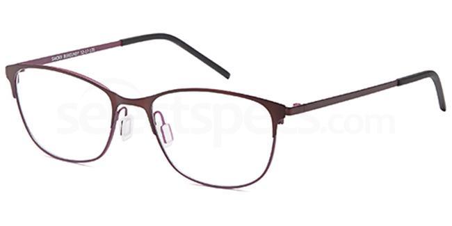 Burgundy SAK369 Glasses, Sakuru
