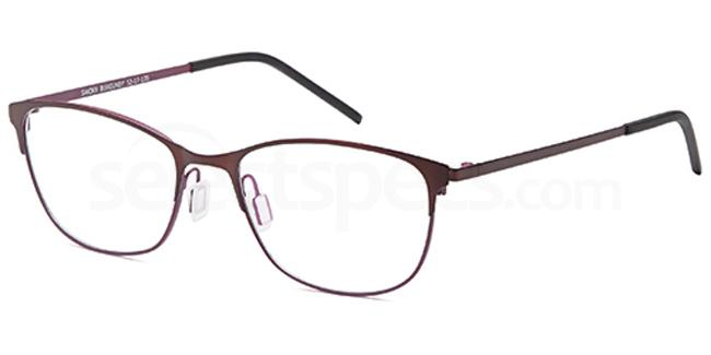 Burgundy SAK369 Glasses, Sakuru