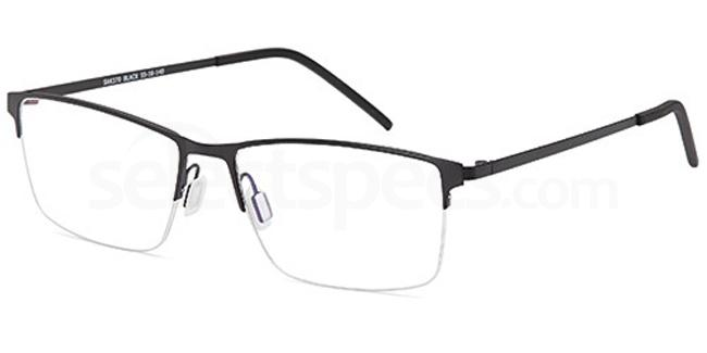 Black SAK370 Glasses, Sakuru