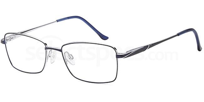 Blue/Silver SAK1010T Glasses, Sakuru