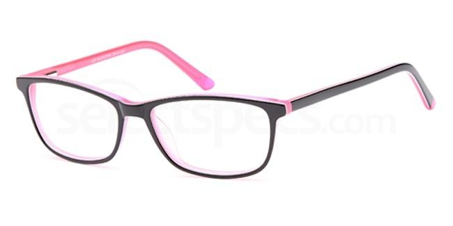 Black/pink D 33 Glasses, Brooklyn