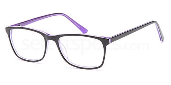 Black/purple D 36 Glasses, Brooklyn