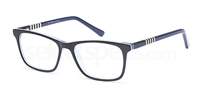 Blue D 41 Glasses, Brooklyn
