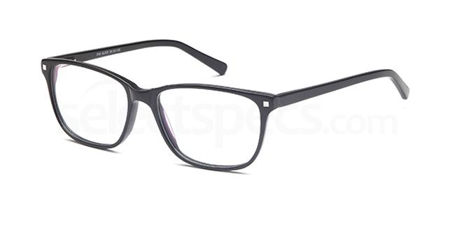 Black D 48 Glasses, Brooklyn