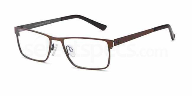 Brown/Grey D 54 Glasses, Brooklyn