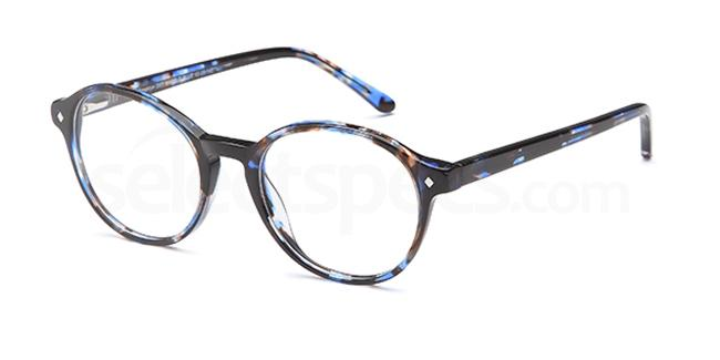 Marble Blue D 57 Glasses, Brooklyn