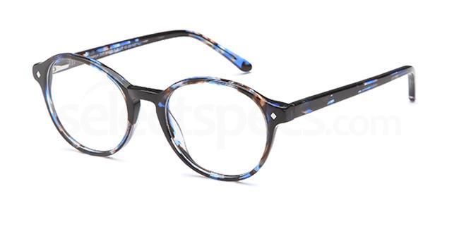 Marble Blue D 57 Glasses, Brooklyn
