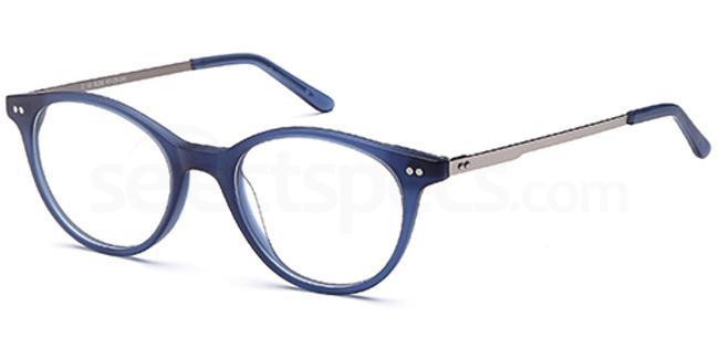 Blue D58 Glasses, Brooklyn