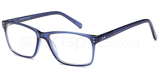 Blue D61 Glasses, Brooklyn