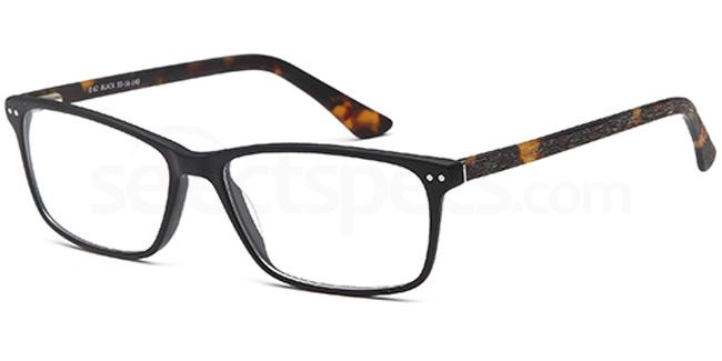 Black D62 Glasses, Brooklyn