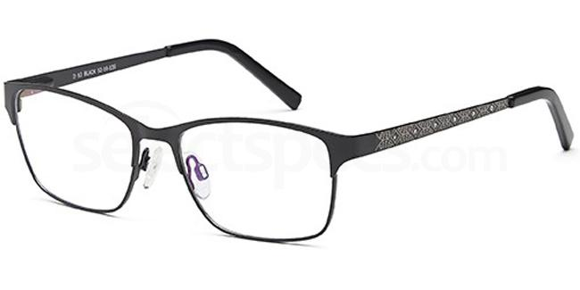 Black D63 Glasses, Brooklyn