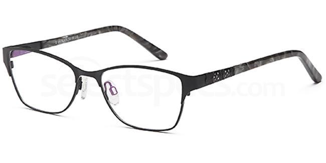 Black D64 Glasses, Brooklyn