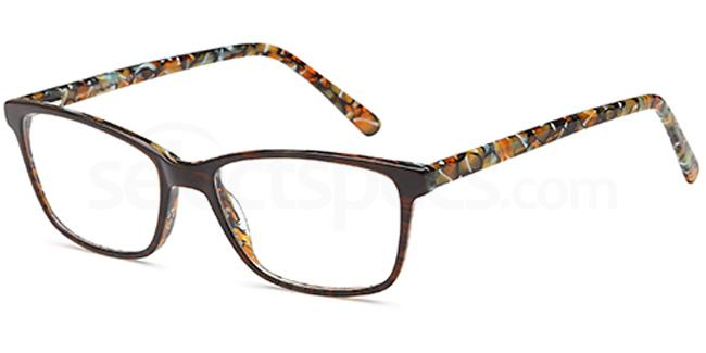 Brown D66 Glasses, Brooklyn
