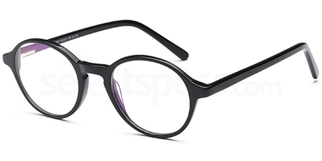 Black D67 Glasses, Brooklyn