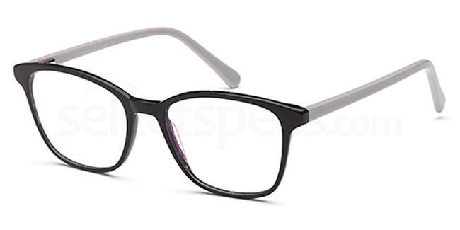 Black D69 Glasses, Brooklyn
