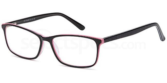 Black D71 Glasses, Brooklyn