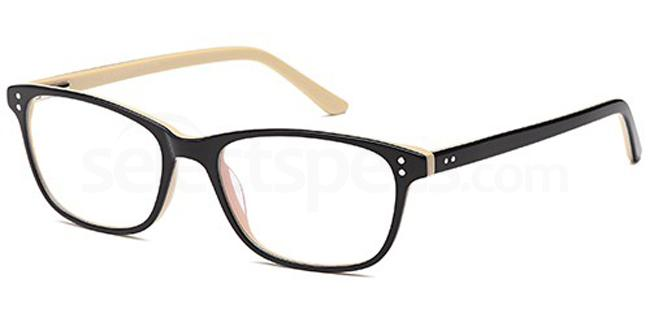 Black/Horn D73 Glasses, Brooklyn