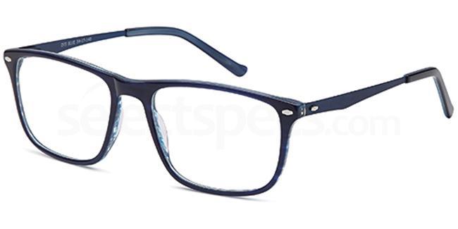 Blue D75 Glasses, Brooklyn
