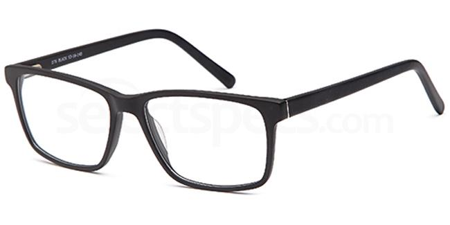 Black D76 Glasses, Brooklyn