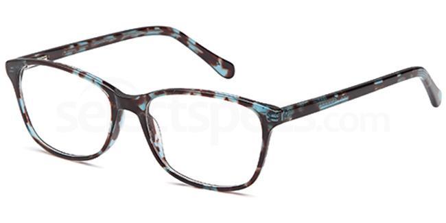 Blue Demi D83 Glasses, Brooklyn