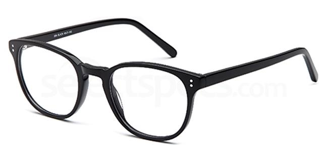 Black D84 Glasses, Brooklyn
