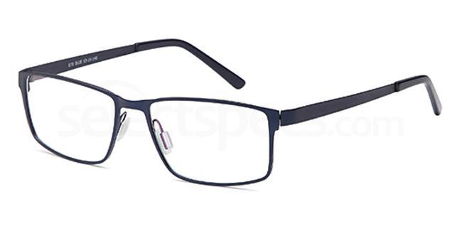 Blue D78 Glasses, Brooklyn
