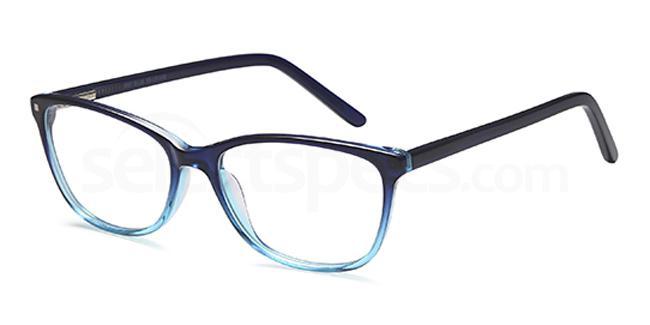 Blue D87 Glasses, Brooklyn
