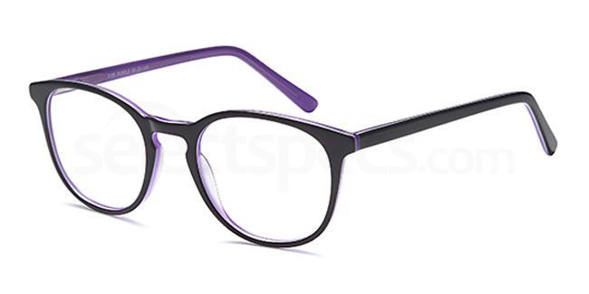 Purple D89 Glasses, Brooklyn
