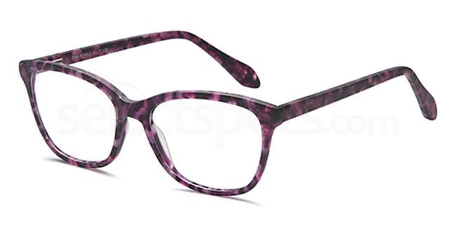 Purple D90 Glasses, Brooklyn