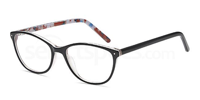 Black D94 Glasses, Brooklyn