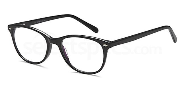 Black D95 Glasses, Brooklyn