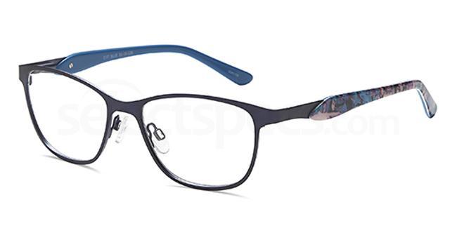 Blue D97 Glasses, Brooklyn