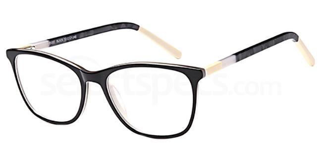 Black D103 Glasses, Brooklyn
