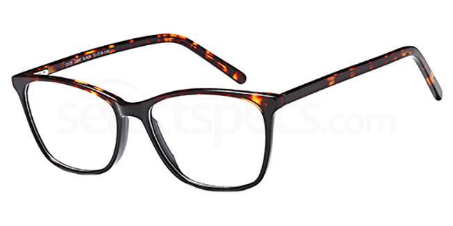 Demi Black D105 Glasses, Brooklyn