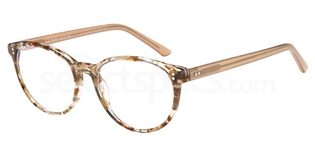 Brown D108 Glasses, Brooklyn