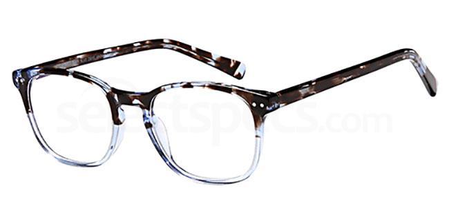Blue Demi D109 Glasses, Brooklyn