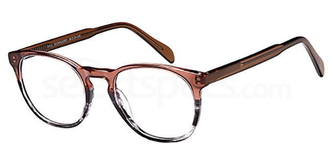 Brown/Grey D111 Glasses, Brooklyn