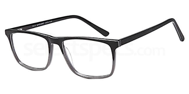 Black/Grey D115 Glasses, Brooklyn
