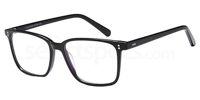 Black D118 Glasses, Brooklyn
